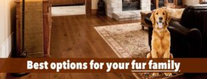 best floor for your pet
